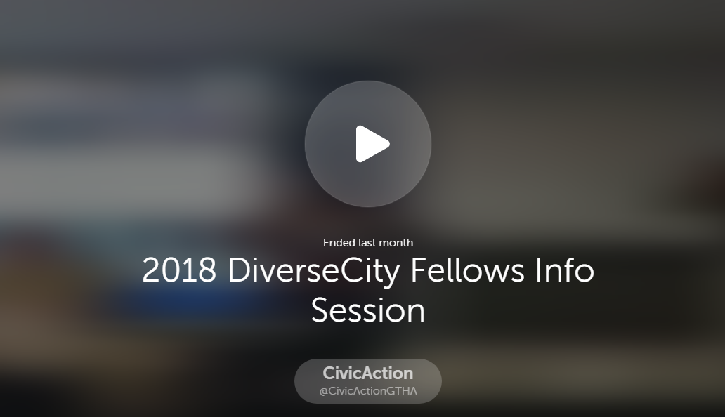 DiverCity 2017 Info Session