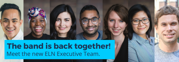 Introducing the 2018-19 ELN Executive Committee!