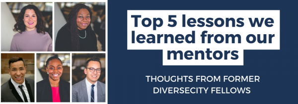 Top 5 lessons we learned from our mentors