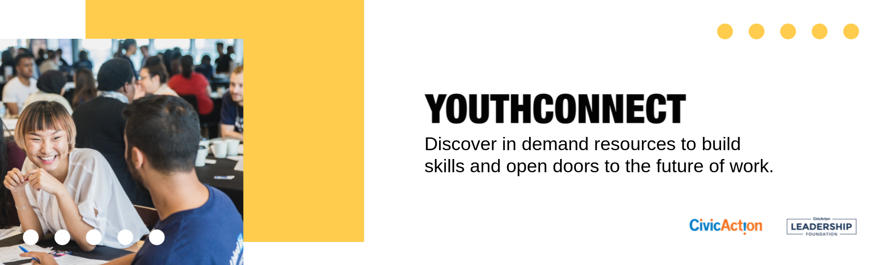 YouthConnect: Build skills. Gain employment.