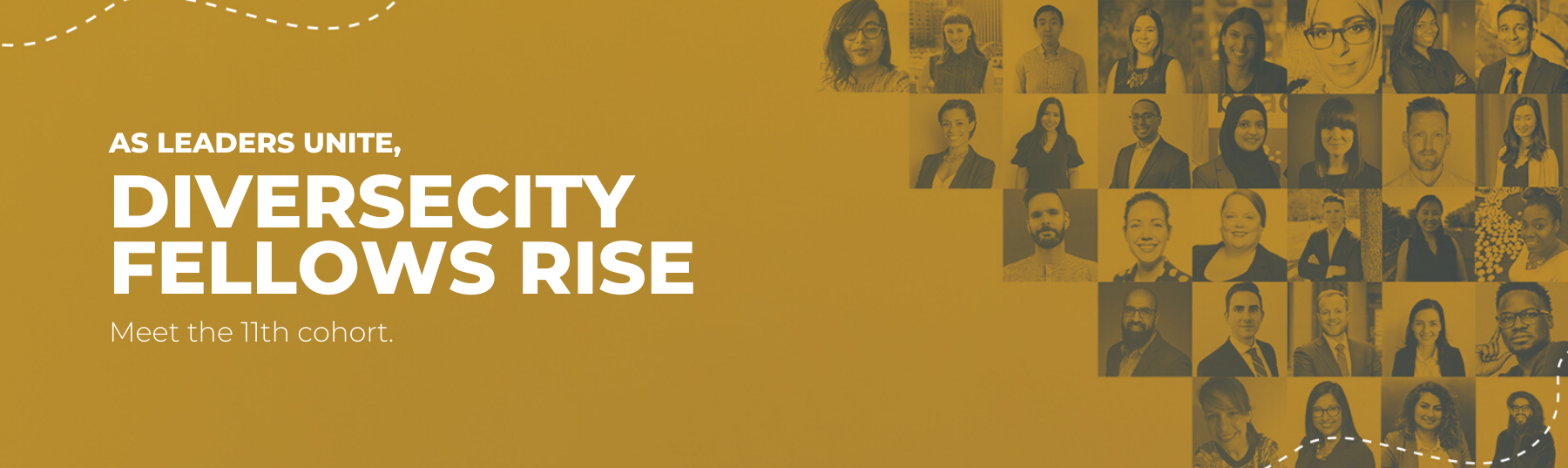 Meet the 11th cohort of DiverseCity Fellows.