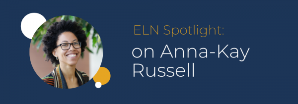 ELN spotlight on Anna-Kay Russel.